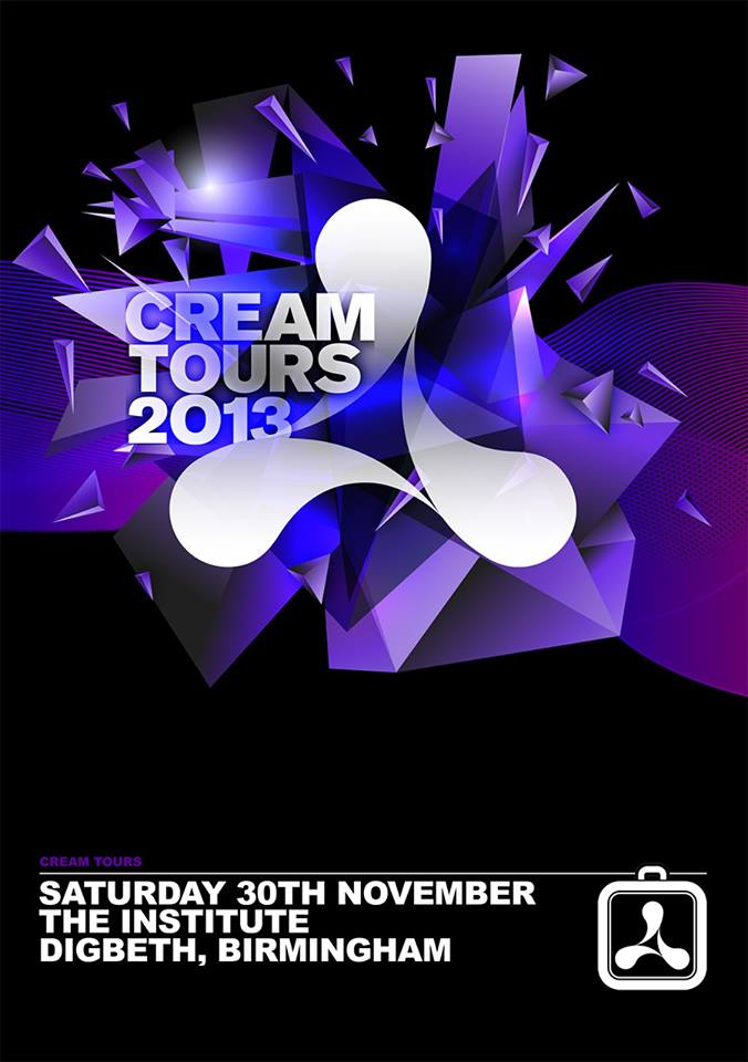 Cream Announce Winter Birmingham Tour – 30th November