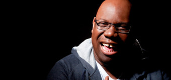 Carl Cox has over 150,000 records ordered chronologically, and the last bloody thing he needs is more