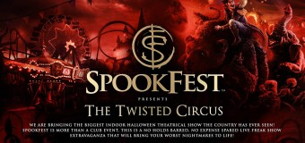 Something Wicked This Way Comes!  SPOOKFEST – CENTRAL HALL BIRMINGHAM!!!